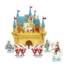 """Деревянный 3D пазл """"Дворец принцессы"""", 32 детали, Robotime"""