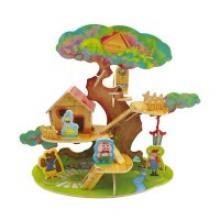 """Деревянный 3D пазл """"Дом на дереве"""", 46 деталей, Robotime"""