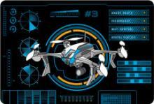 """Подкладка настольная """"Quadrocopters"""", А3, ErichKrause"""