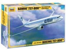 """Модель сборная """"Пассажирский авиалайнер Боинг 737-300"""", Звезда"""