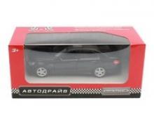 """Модель машины """"Автодрайв. Mercedes Benz E63 AMG"""", масштаб 1:32, цвет матовый черный, Рыжий кот"""