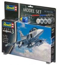 "Набор ""Шведский истребитель-бомбардировщик Saab JAS-39D GRIPEN TwinSeater"", Revell (Ревелл)"