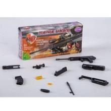 """Сборная 4D модель ружья """"QBZ-95"""", М1:6 (арт. ВВ2558), Bondibon (Бондибон)"""
