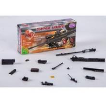 """Сборная 4D модель ружья """"M14BER"""", М1:6 (арт. ВВ2560), Bondibon (Бондибон)"""