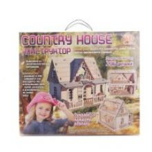"Конструктор ""Соuntry house"", 136 деталей, Polly"