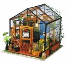 """Миниатюрный конструктор для творчества """"Цветочный домик"""", 231 элемент, Robotime"""