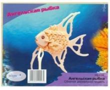 """Сборная модель """"Ангельская рыбка"""", Чудо-дерево (VGA Wooden Toys)"""