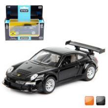 """Машина металлическая, инерционная """"Porsche 911 GT3 RSR"""" (цвет: оранжевый), Hoffmann"""