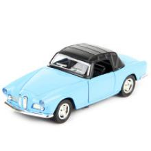 """Машина металлическая, инерционная """"Retro Style"""" (цвет: голубой), Hoffmann 61230"""