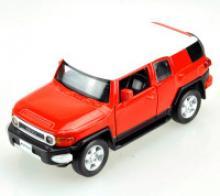 """Машина металлическая, инерционная """"Toyota FJ Cruiser"""" (цвет: красный), Hoffmann"""