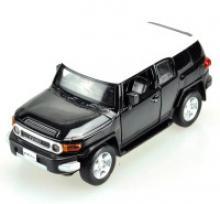 """Машина металлическая, инерционная """"Toyota FJ Cruiser"""" (цвет: черный), Hoffmann"""