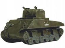 "Сборная модель из картона ""Танк М4А2. Sherman"", Умная бумага"