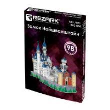 """Пазл 3D REZARK """"Замок Нойшванштайн"""", 41,5х18х33,5 см, арт. RAZ-004, REZARK"""