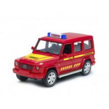 "Модель машины ""Mercedes-Benz G-CLASS. Пожарная"", Welly"