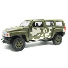 """Модель военной машины """"Hummer H3"""", Welly"""