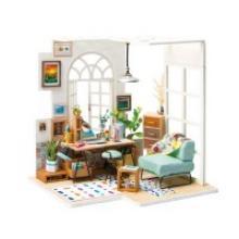 """Деревянный 3D пазл """"Дома миниатюры. Домашний офис"""", Robotime"""