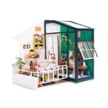 """Деревянный 3D пазл """"Дома миниатюры. Балкон"""", Robotime"""