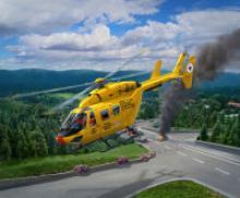 """Сборная модель """"Многоцелевой вертолет BK-117 спасательной службы ADAC"""", Revell (Ревелл)"""
