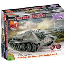 Сборная 4D модель танка, М1:77 (арт. ВВ2973), Bondibon (Бондибон)