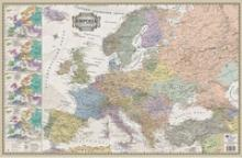 "Коврик на стол ""Европа в ретро стиле"", АГТ Геоцентр"