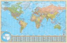 """Коврик на стол """"Политическая карта мира"""", АГТ Геоцентр"""