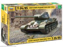 Сборная модель. Советский средний танк Т-34/85, Звезда