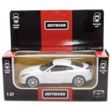 Модель машины металлическая, инерционная, 1:32, цвет белый, Hoffmann 49505