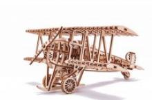 """Сборная деревянная модель """"Самолет"""", Wood Trick"""