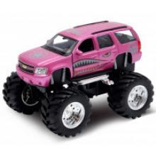 "Модель машины ""Chevrolet Tahoe Big Wheel Monster"", Welly"