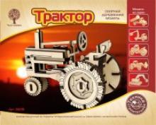 """Сборная деревянная модель """"Трактор"""", Чудо-дерево (VGA Wooden Toys) 80091"""