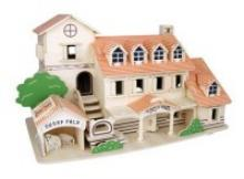 """Сборная деревянная модель """"Вилла"""", Чудо-дерево (VGA Wooden Toys)"""