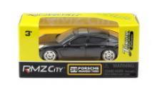 """Машина """"Porsche Panamera"""", черная матовая (без механизмов), Uni-Fortune"""