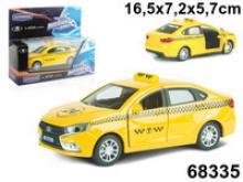 """Машинка """"Lada Vesta. Такси"""", 1:36, Autotime"""