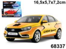 """Машинка """"Lada Vesta. Спорт"""", 1:36, Autotime"""