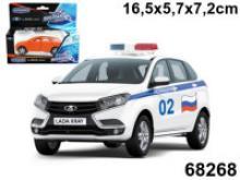 """Машинка """"Lada Xray. Полиция"""", 1:36, Autotime"""