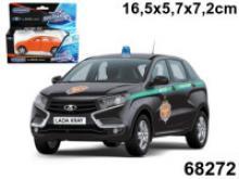 """Машинка """"Lada Xray. ФСБ"""", 1:36, Autotime"""