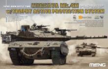 "Сборная модель Meng ""Israel Main Battle Tank Merkava Mk.4m W/Trophy Active Protection System"", 1:35, арт. TS-036, MENG"