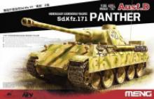 "Сборная модель Meng ""German Medium Tank Sd.Kfz.171 Panther Ausf.D"", 1:35, арт. TS-038, MENG"