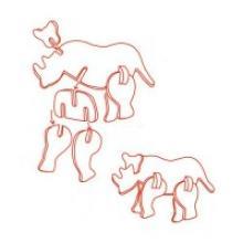 """Деревянный мини-пазл 3D """"Носорог"""", 11,5x7,3x0,3 см, арт. MA1019, Китай"""