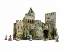 """Сборная игрушка из картона """"Руины замка"""", Умная бумага"""