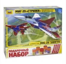 """Подарочный набор самолет """"МиГ-29 Стрижи"""", Звезда"""