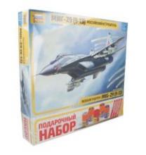 """Подарочный набор самолет """"МиГ-29С"""", Звезда"""