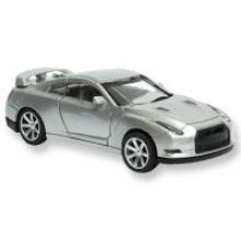 "Металлическая машинка 1:32 Handers ""Nissan Skyline"", серый, Handers"