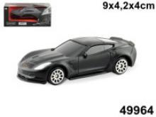 "Машинка ""Chevrolet corvette c7. Black edition 3"", 1:60, Autotime 49964"