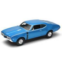 """Модель винтажной машины """"Oldsmobile 442"""", Welly"""
