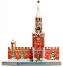 """Сборная модель из картона """"Спасская Башня Московского Кремля"""", Умная бумага"""