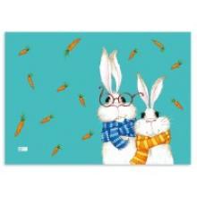 """Пленка для уроков труда """"Кролики"""", Феникс+ (канцтовары)"""