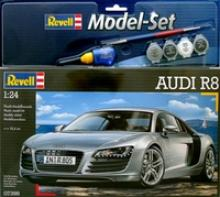 """Сборная модель. Набор """"Автомобиль Audi R8"""", 1/24, Revell (Ревелл)"""