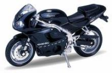 "Модель мотоцикла ""Triumph Daitona 955I"", 1:18, Welly"
