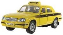 Модель автомобиля ГАЗ-31105. Такси, 1:43, Welly